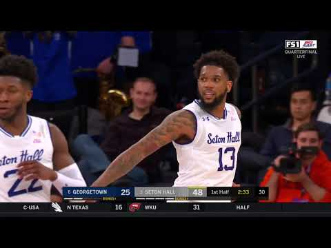 Seton Hall vs. Georgetown Highlights: #BEtourney