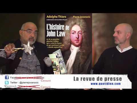 P. Jovanovic - L. Fendt : La revue de presse (Octobre 2016)