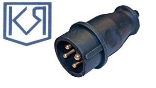 Монтаж промышленной электрической вилки(Монтаж промышленной электрической вилки. Контакты 3Р+Е с заземлением. Состоит из корпуса, кабельного ввода,..., 2011-10-07T08:30:09.000Z)