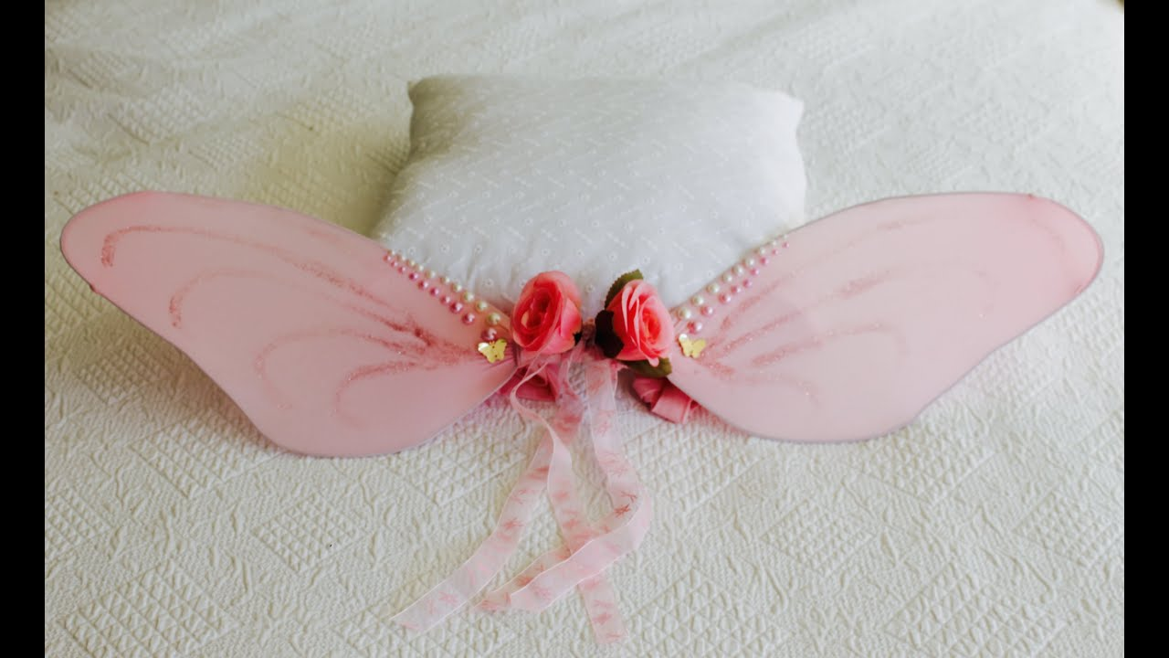 6b1656064a4 How to make fairy wings - YouTube