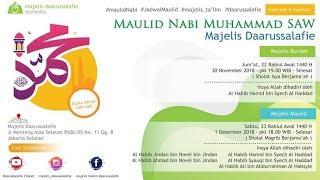 Perayaan Maulid Nabi Muhammad SAW Majelis Ta'lim Daarussalafie 1440 H