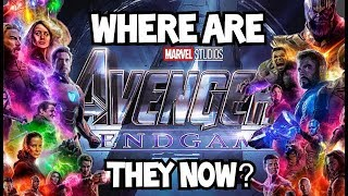 Avengers Endgame: Where Are the Heroes Now? - Film Domain