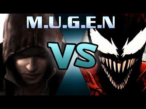 M.U.G.E.N Carnage vs Alex mercer