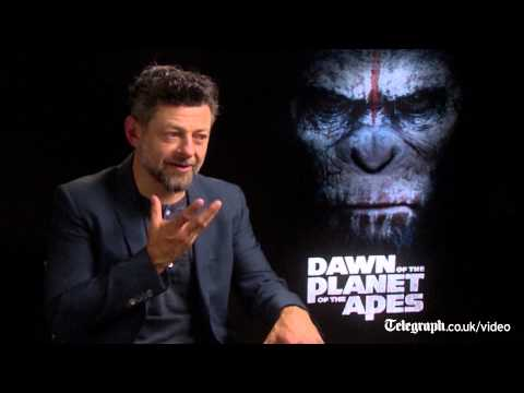 Thumbnail: Andy Serkis: the real challenge was finding Caesar's voice in Dawn of the Planet of the Apes