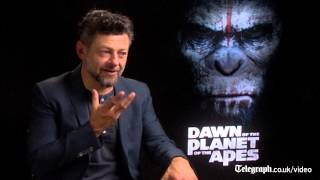 Andy Serkis: the real challenge was finding Caesar's voice in Dawn of the Planet of the Apes