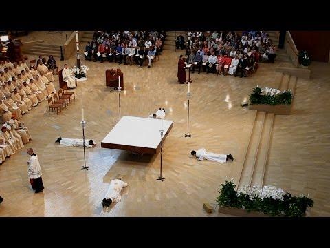 LA Archdiocese Priest Ordination 2014