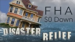 FHA $0 Down Disaster Relief Home Program