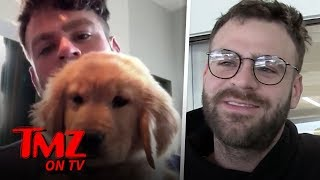 Alex Pall Of The Chainsmokers Loves Golden Retrievers | TMZ TV