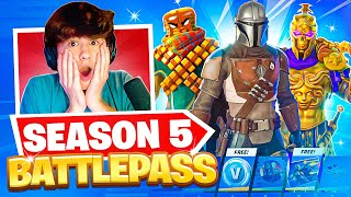 Reacting to the NEW Fortnite Event & Battle Pass (Buying ALL Tiers) | Bugha