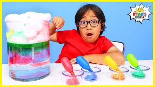 Rain Cloud In A Jar easy DIY Science Experiments for kids to do at home!