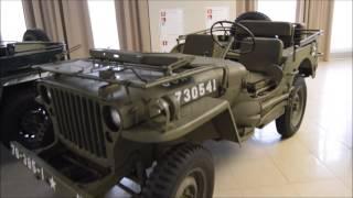 Бронетехника и самолеты, военные автомобили и мотоциклы Второй Мировой войны.  Музей воинской славы.