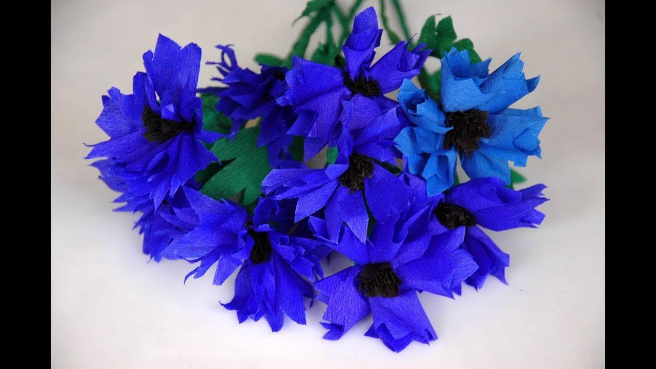 Kwiaty Z Bibuly Chabry Tissue Flowers Diy Youtube