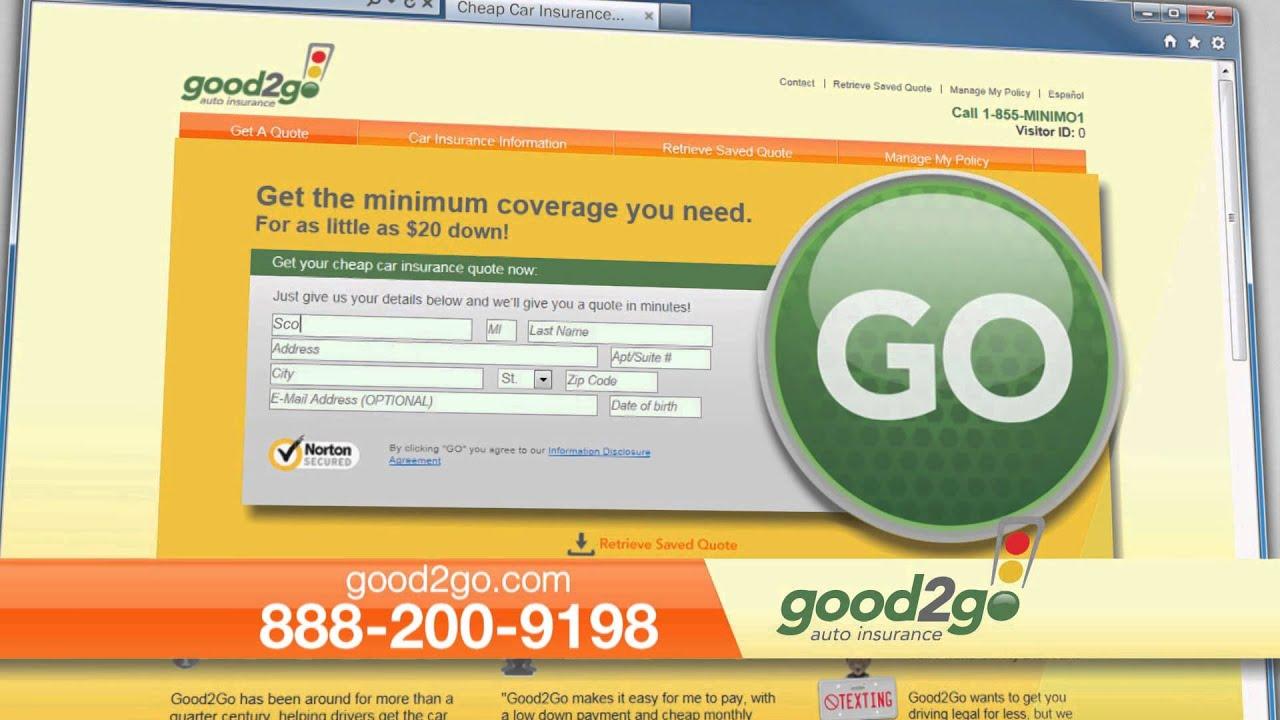 Good2go Insurance Review >> Good2go Auto Insurance Green Light
