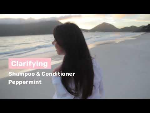 The Organic Traveller - Organic Shampoo & Conditioner - Peppermint - Flare Wellness, Singapore
