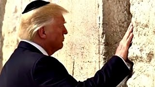 President Trump Visits the Western Wall  5/22/2017 video