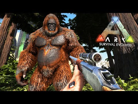 ARK: Survival Evolved -  FINDING BIGFOOT!! (ARK Ragnarok Gam