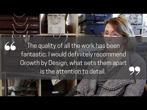 Growth by Design Video Testimonial - The Designer Curtain Company