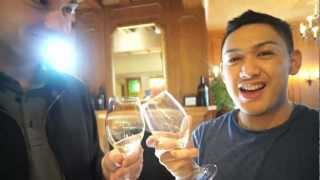 Wine Tasting, Hamburger Helper Duster & Cutting Board Placemats! - Ohitsrome Vlogs