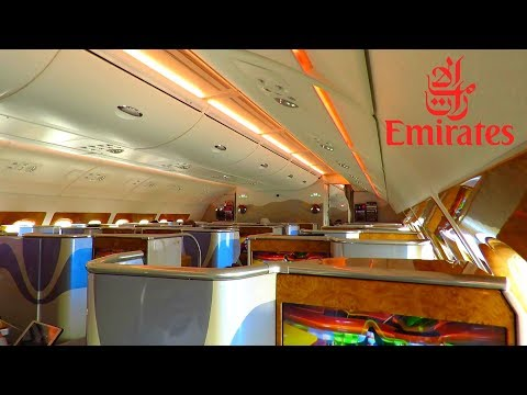 TRIP REPORT | EMIRATES A380 (Business Class) | Bangkok to Hong Kong | + Emirates Lounge!