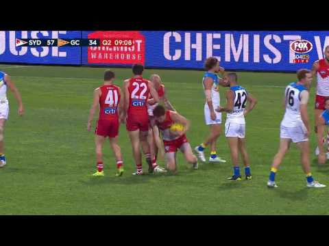 Round 16 AFL: Sydney Swans v Gold Coast Highlights