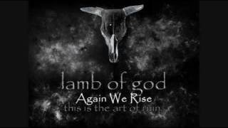 Lamb of God- Again We Rise  (with lyrics)