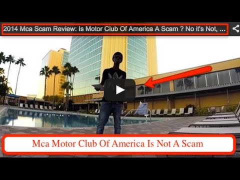 New 2014 mca scam explained by motor club of america 39 s for Mca motor club of america scam