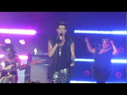 Adam Lambert - HD - Naked Love - Fantasy Springs - Indio, CA
