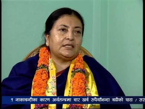 TOUGH Talk with Bidhya Devi Bhandari, Nepal's First Woman President