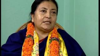 TOUGH Talk with Bidhya Devi Bhandari, Nepal
