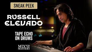 Tape Echo on DAngelos Drums - Russell Elevado