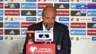 #Spagna-Italia: #C.T Ventura dopo la partita in conferenza stampa