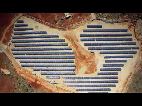 [HD] 2 MW Southern Turkey PV Plant Site video
