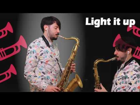 Light it up - Major Lazer (Cover Sax Daniele Vitale)