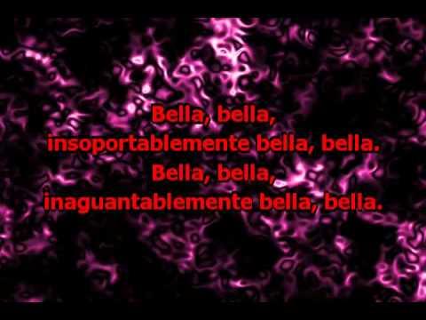 Insoportablemente Bella (con letra) - Emmanuel (Karaoke)