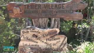 Knysna Woodworkers Festival 2012 - Timber Village Woodworkers Show