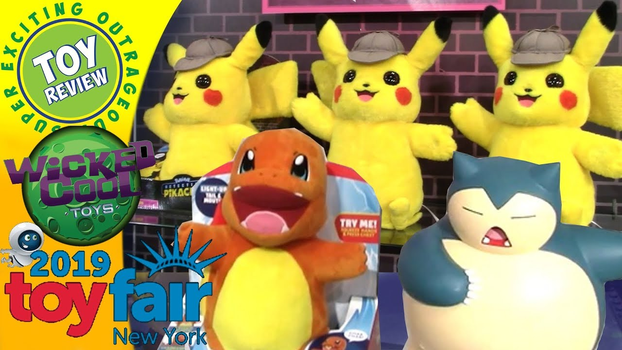 Pokemon Detective Pikachu Toys By Wicked Cool Toys New York