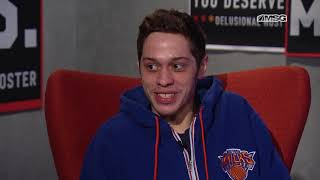 Pete davidson stops by the people talking sports set to talk about saturday night live. watch new york knicks & snl this season!