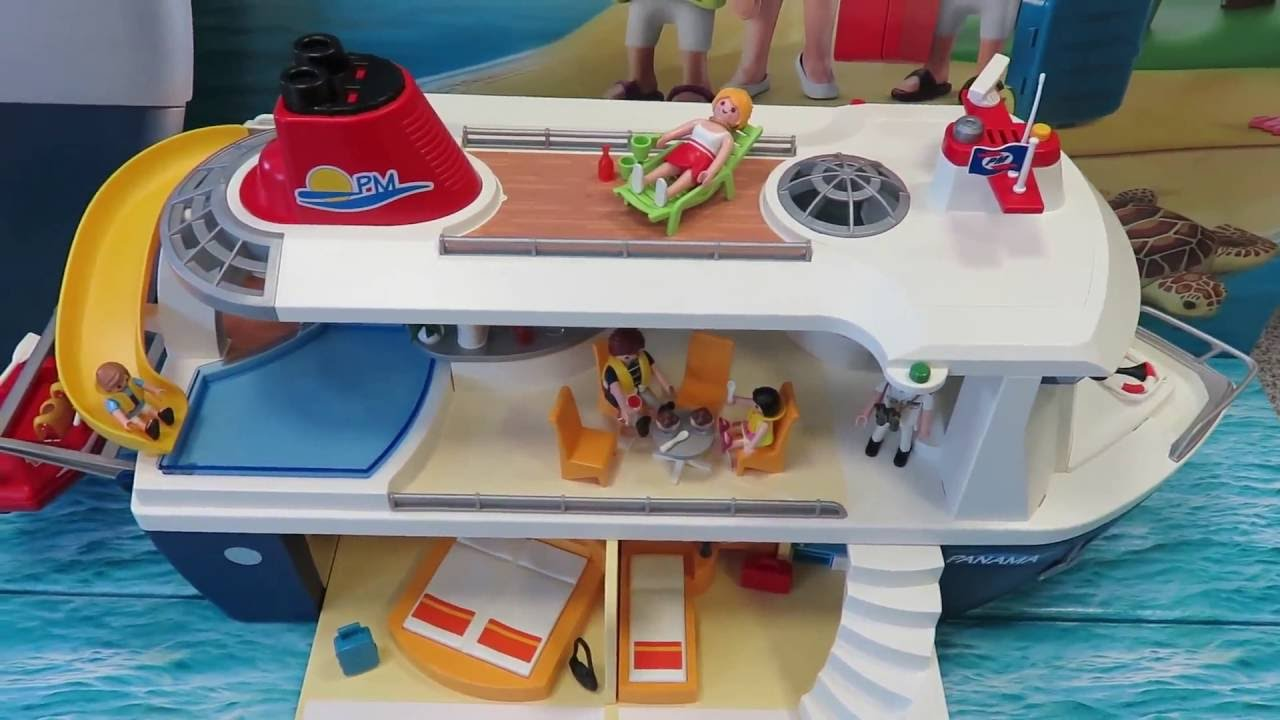 playmobil kreuzfahrtschiff 6978 mit allen details von youtube. Black Bedroom Furniture Sets. Home Design Ideas
