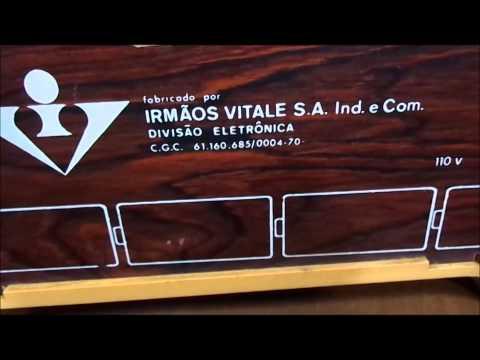 RÁDIO OSAKA SOLID STATE CABECEIRA TRANSISTORIZADO FUNCIONANDO