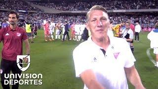 Fantástico: Le pusieron una cámara al árbitro del juego entre el Real Madrid y Estrellas de MLS
