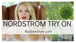 Let's Go Shopping! | Nordstrom Try On VIDEO