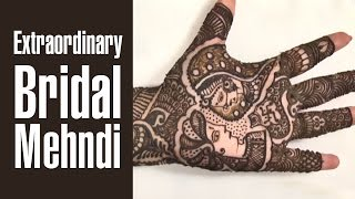 Extraordinary Bridal Mehndi Design For Wedding