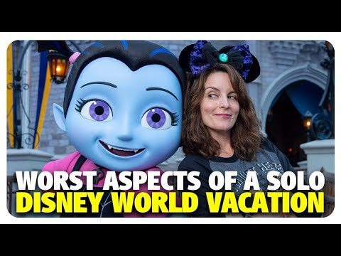 WORST Aspects of a Solo Walt Disney World Vacation | Best and Worst | 10/31/18