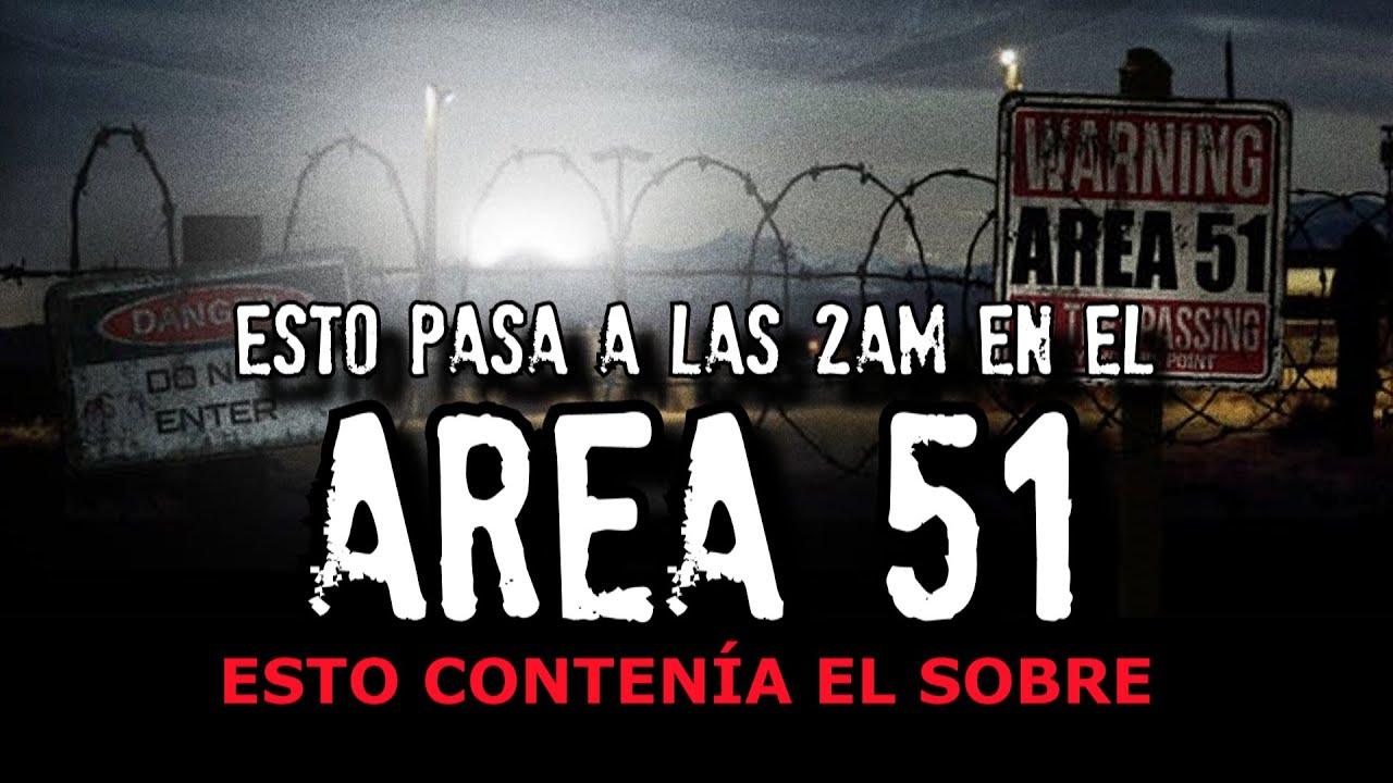 El AREA 51 se activa a las 2 de la madrugada (Lo han grabado)