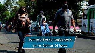 En las últimas 24 horas, el país registró 192 muertes y 3 mil 964 contagios; este viernes fueron aplicadas 453 mil 176 dosis