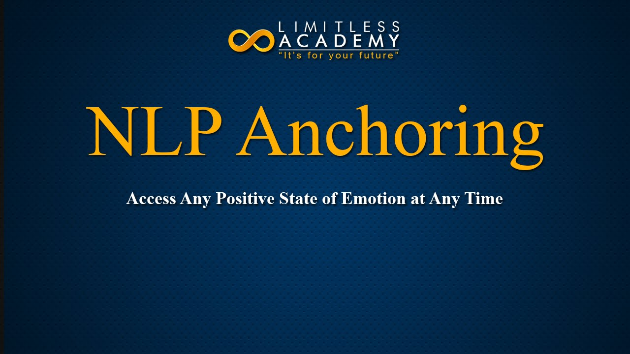 NLP anchoring techniques - YouTube