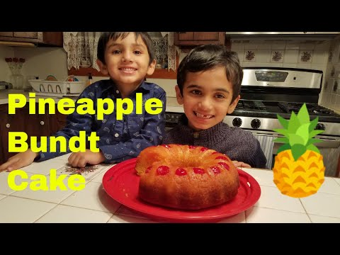 Pineapple Bundt Cake Recipe   Easy Cake Recipe for Kids