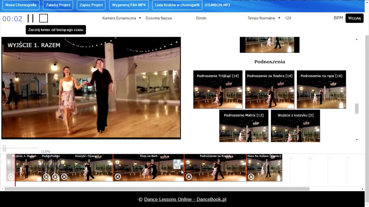 Generator Choreografii Disco – Absolutna Nowość od DanceBook!