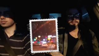 Gece Trafikte direksiyon dersi!