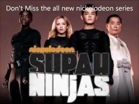 Supah Ninjas! Brand New Nickelodeon Series